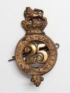Kings Own Borderes Regt. Cap Badge