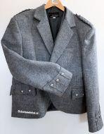 Argyle Kilt Jacket, Tweed, maat 46R, MET binnenvest