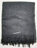 Blanket,  100% lamswol, ABSR/Steel, 170 x 140