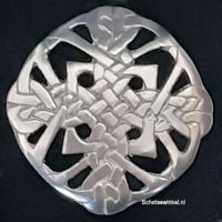 Broach, Pewter Mill, Knot, 5 cm