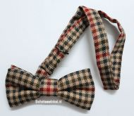 Bow tie, St. Abbs Check, Tweed